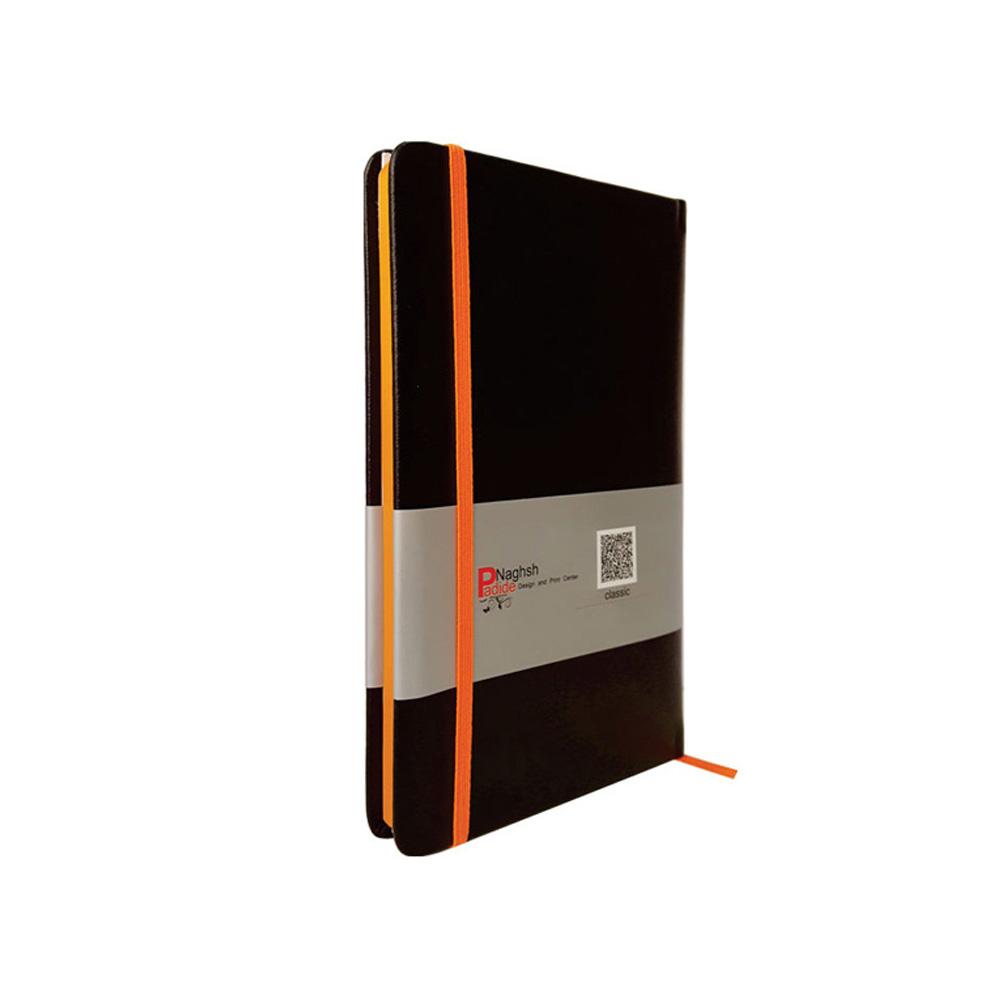 دفتر یادداشت قطع اروپایی مدل مداد رنگی