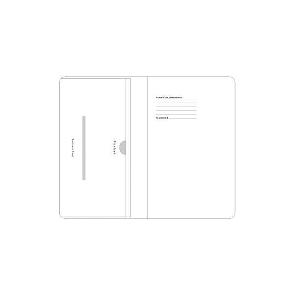 پاکت با کاغذ سفید