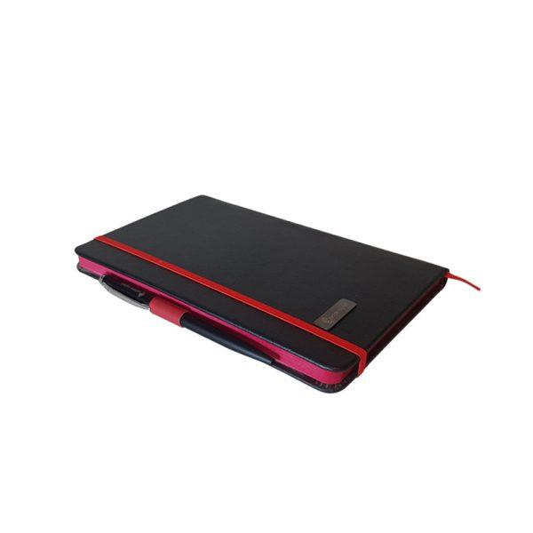 دفتر یادداشت اروپایی مدل مداد رنگی همراه با خودکار 14