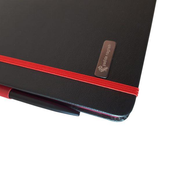 دفتر یادداشت اروپایی مدل مداد رنگی همراه با خودکار 15
