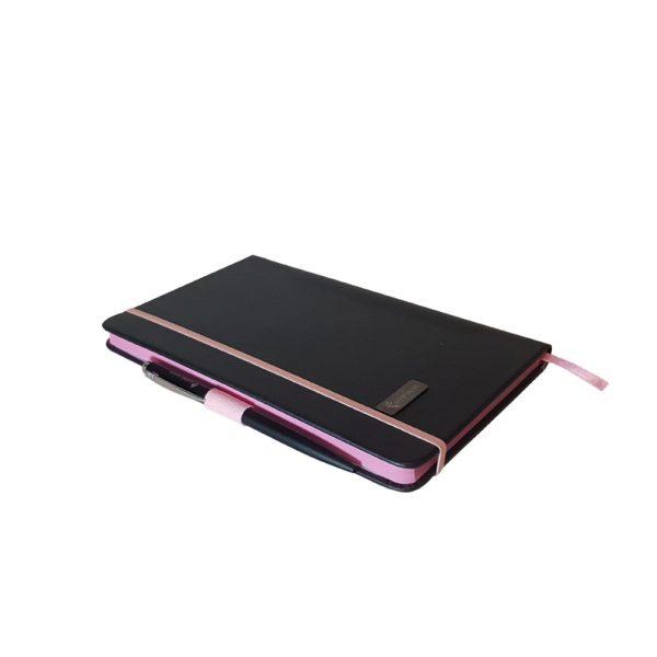 دفتر یادداشت اروپایی مدل مداد رنگی همراه با خودکار 2