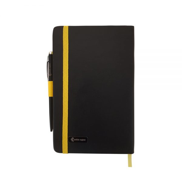 دفتر یادداشت اروپایی مدل مداد رنگی همراه با خودکار 6