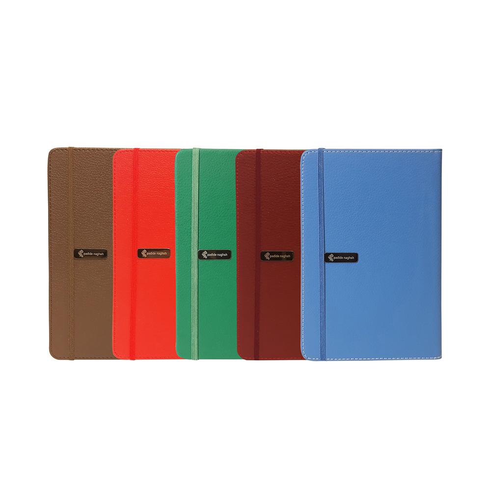 دفتر یادداشت اروپایی مدل چرمی (بسته ۵ عددی)