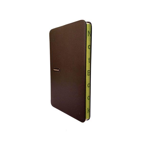 دفتر یادداشت فرانسوی مدل عطف رنگی 2