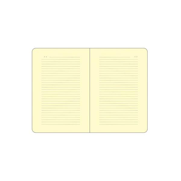 صفحات داخلی نوت با کاغذ کرم