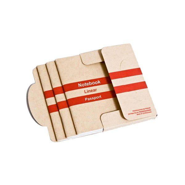 گیفت یادداشت مدل پاسپورتی