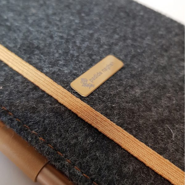 دفتر یادداشت اروپایی مدل Carpeti طلائی 2