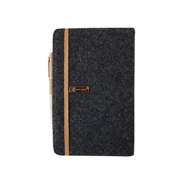 دفتر یادداشت مدل کارپتی Carpeti طلائی