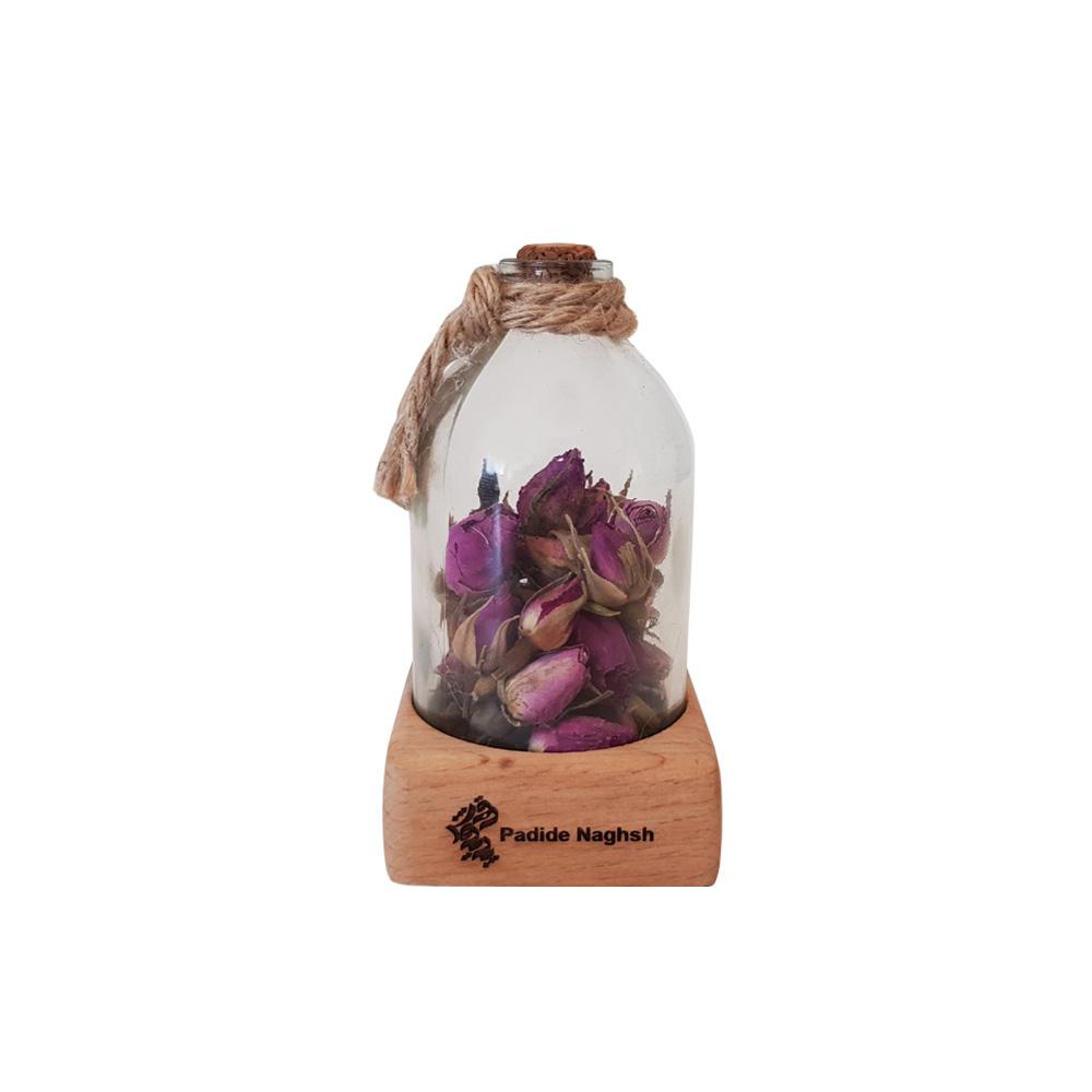 گیفت رومیزی همراه با رایحه گل سرخ