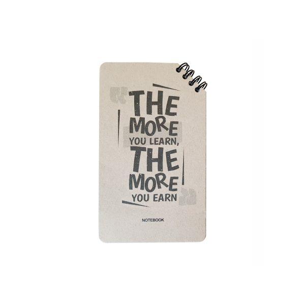 دفتر یادداشت سیمی طرح انگلیسی مدل نوستالژی 2