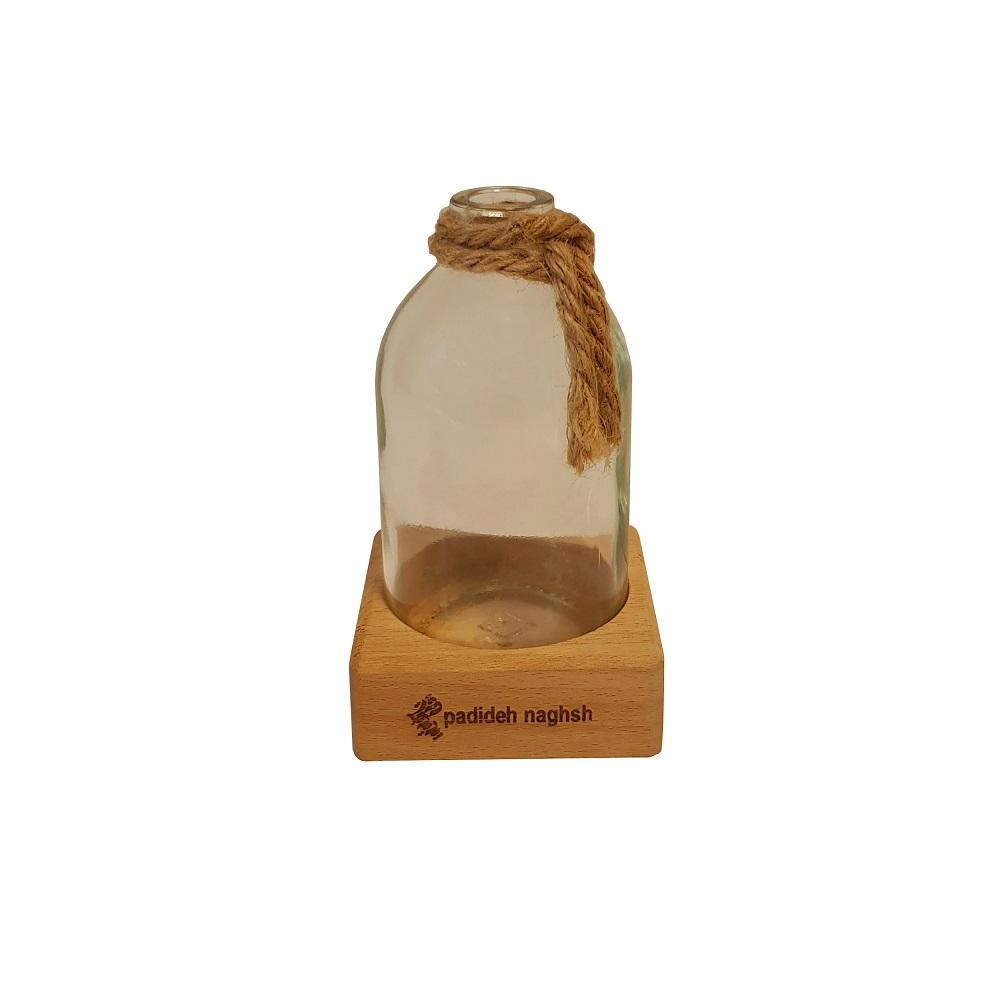 گلدان دکوری شیشه ای