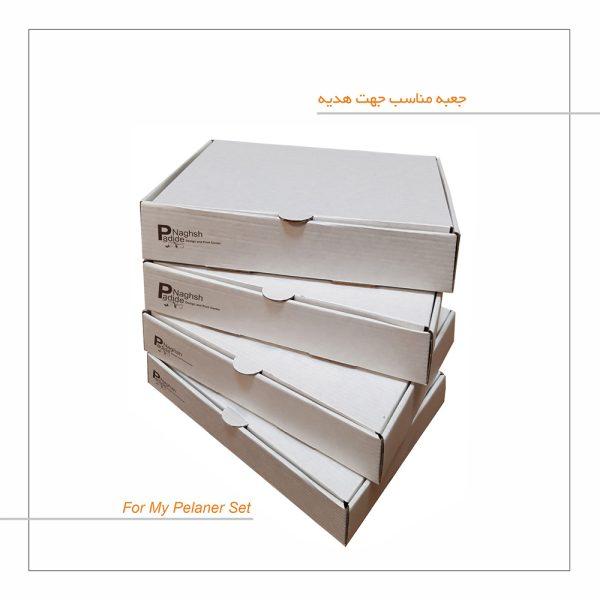 دفتر برنامه ریزی پدیده نقش پک ۳ عددی-جعبه هدیه-کامل