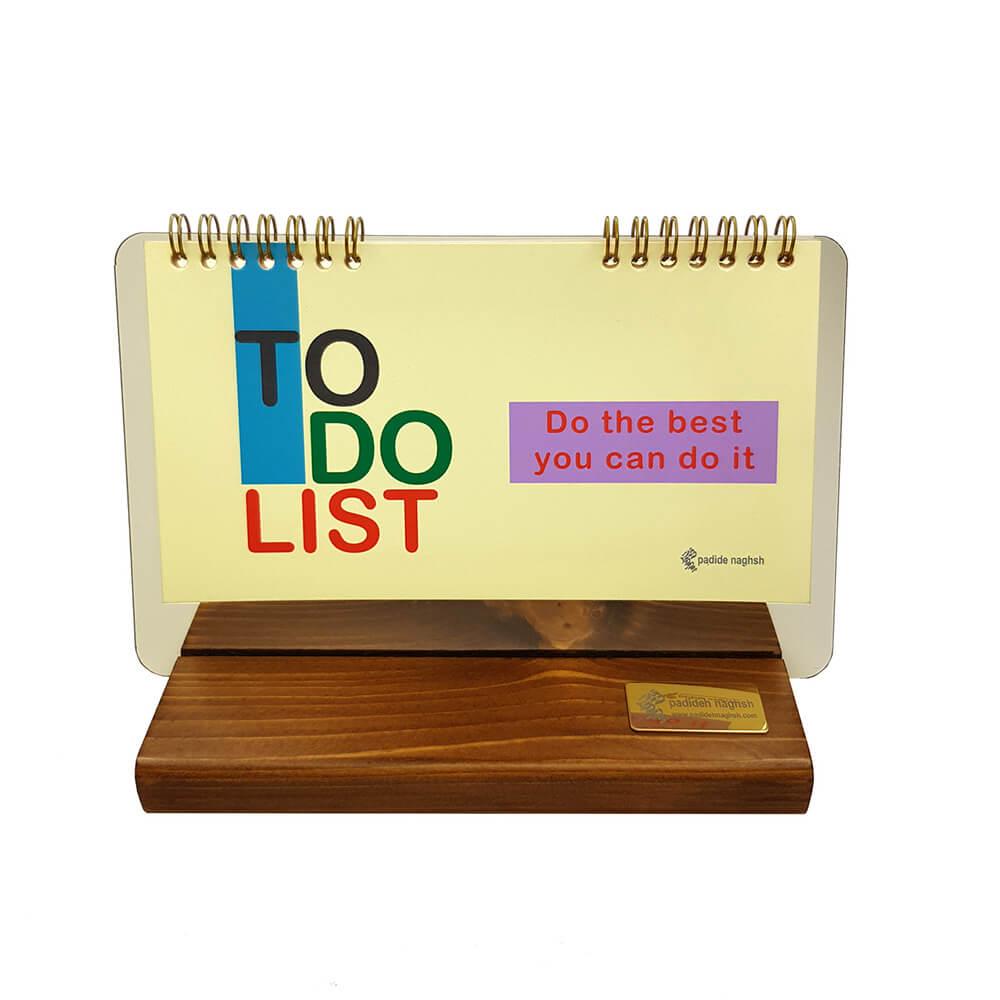 دفتر برنامه ریزی کد۰۶ مدل پایه چوبی